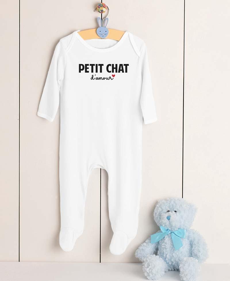 Pyjama Petit Chat d'Amour