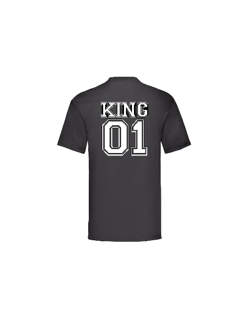 T-shirt King à personnaliser Pilou et Lilou