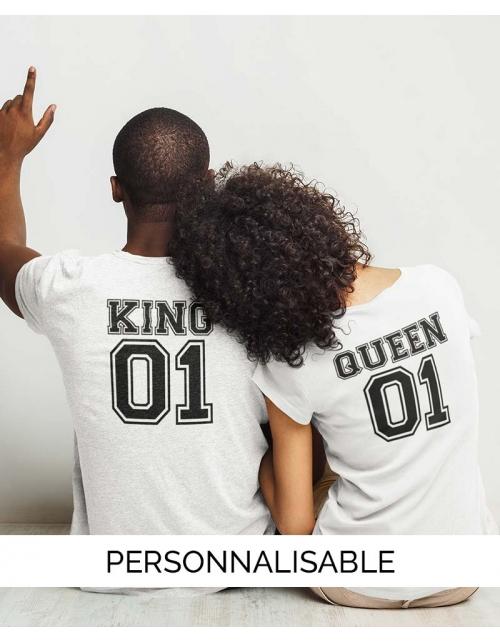 T-shirt Saint Valentin Queen - Pilou et Lilou