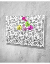 Ma toile à colorier Orchidées