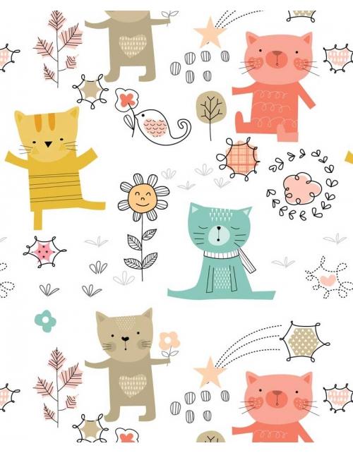 Papier Peint Chat-Choux