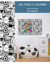 Ma toile à colorier Les Rigolos