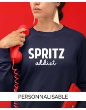 Sweat Spritz personnalisable - Pilou et Lilou