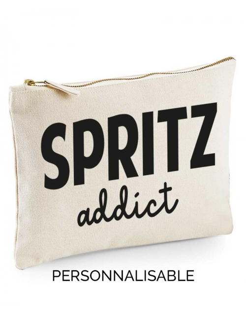 Pochette à personnaliser Spritz