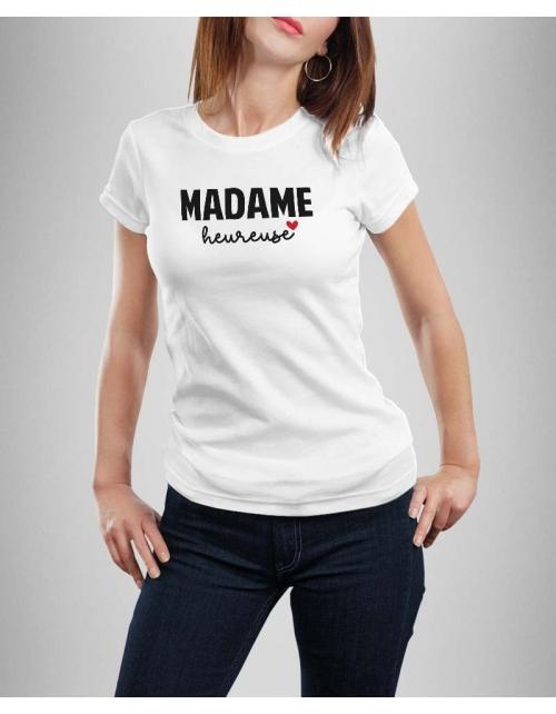 T-shirt Madame Heureuse