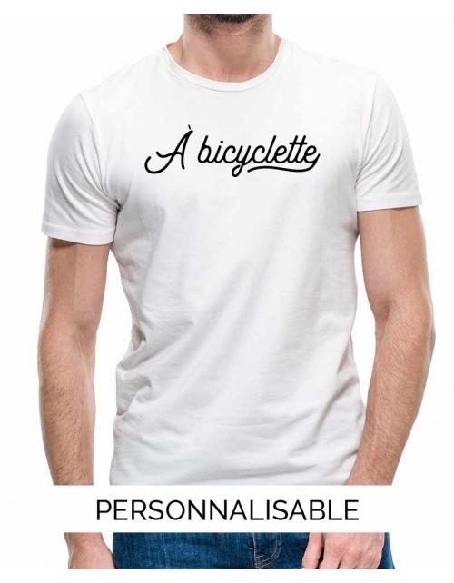 T-shirt Homme à Bicyclette