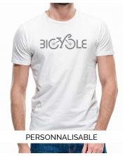 T-shirt Homme Bicycle Pilou et Lilou