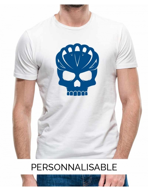 T-shirt homme personnalisable -Bike Skull-
