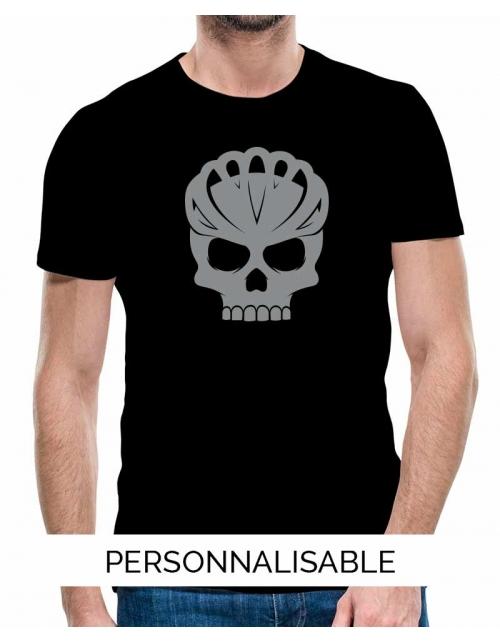 T-shirt homme personnalisable -Bike Skull-