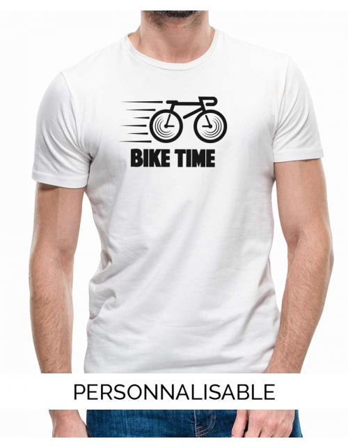 T-shirt Homme Bike Time