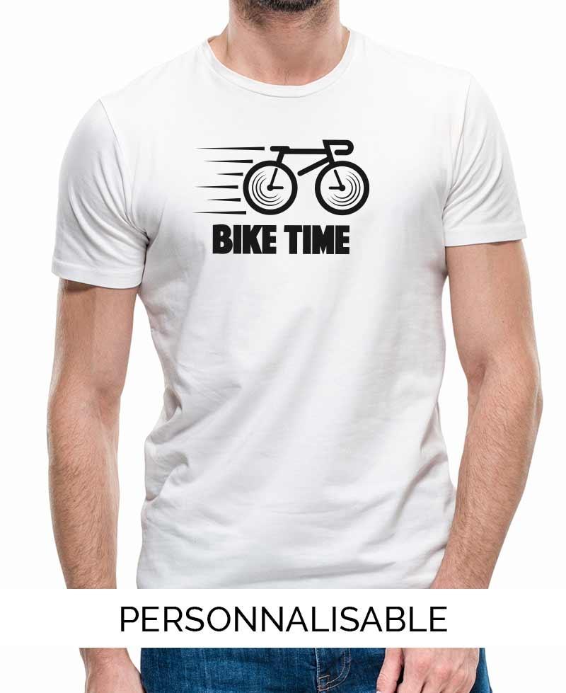 T-shirt personnalisé Vélo