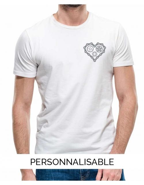 T-shirt Homme Heart Bike
