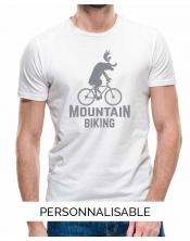T-shirt Homme Mountain Biking
