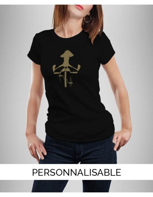 T-shirt Femme Bike Girl