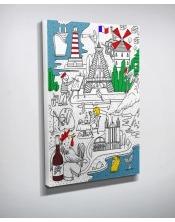 Ma toile à colorier France