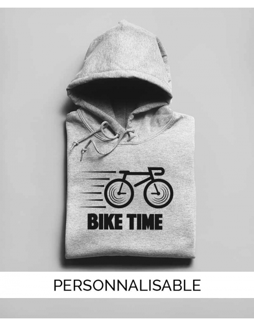 Hoodie Bike Time