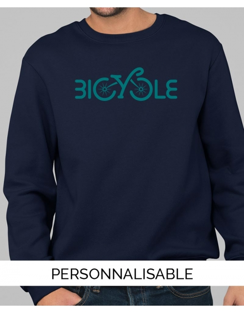 Sweat personnalisable Bicycle Pilou et Lilou