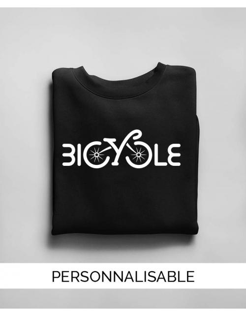 Sweat personnalisable Bicycle Pilou et Lilou