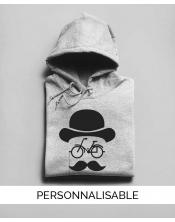 Hoodie personnalisable Hipster bike