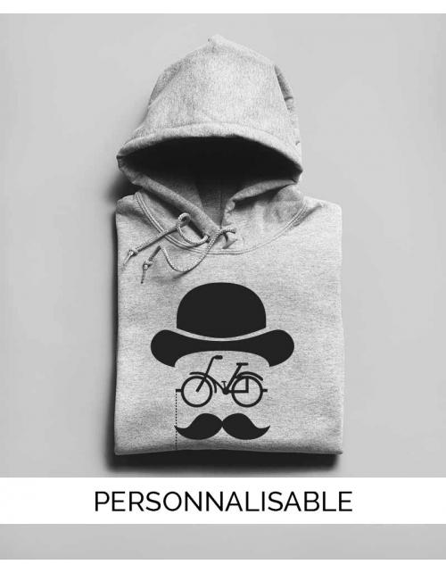 Hoodie Hipster Bike