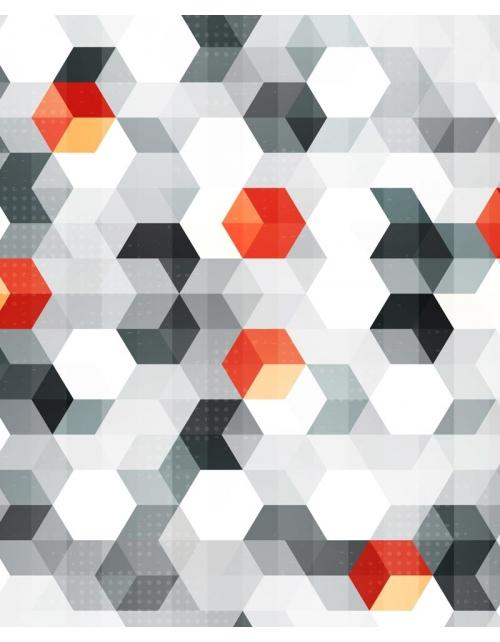 Papier Peint Geometric Cubic
