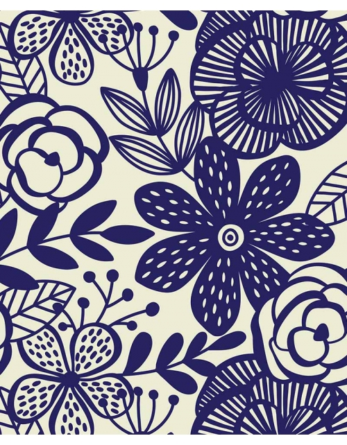 Papier Peint Pop Blue