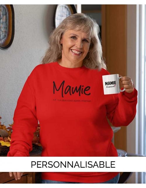 Sweat Mamie définition personnalisable
