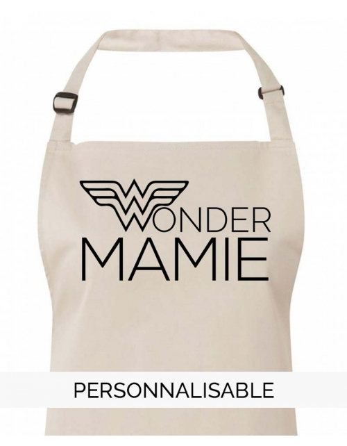 Tablier Wonder Mamie Personnalisable Pilou et Lilou