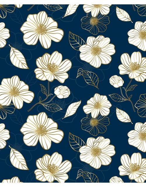 Papier Peint Golden Flower