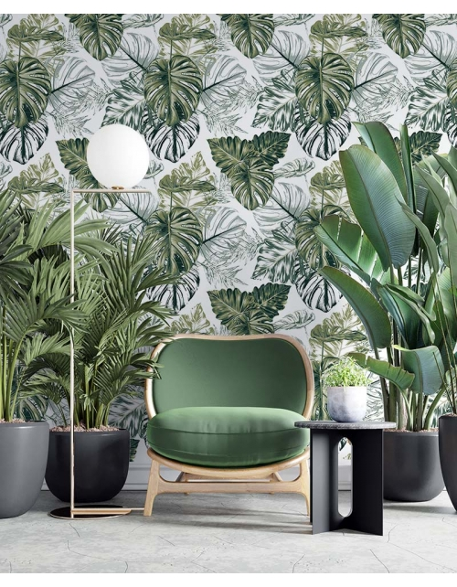 Papier Peint Green Jungle