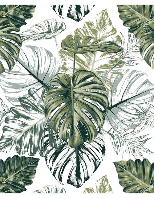 Papier Peint Green Jungle