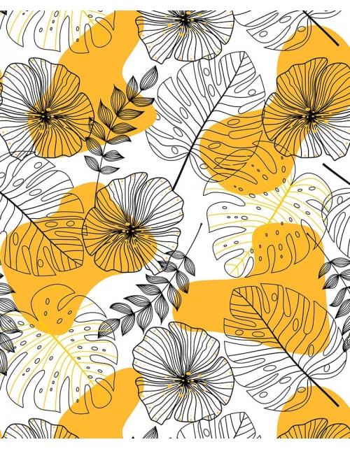 Papier Peint Yellow