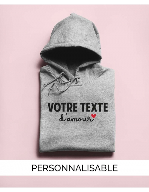 Hoodie d'Amour