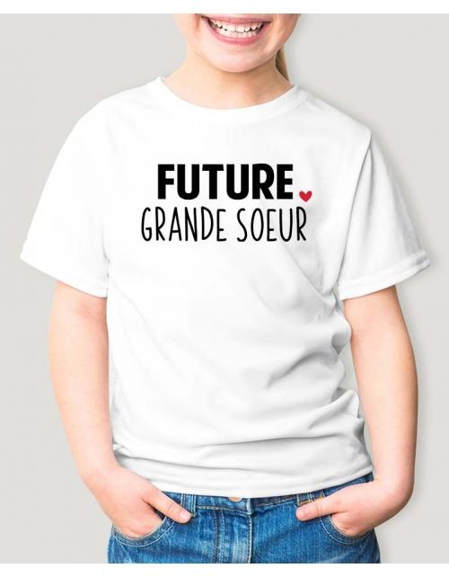 T-Shirt Enfant Future Grande Soeur