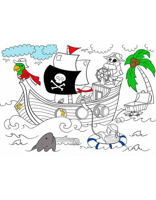 Coloriage Les Pirates