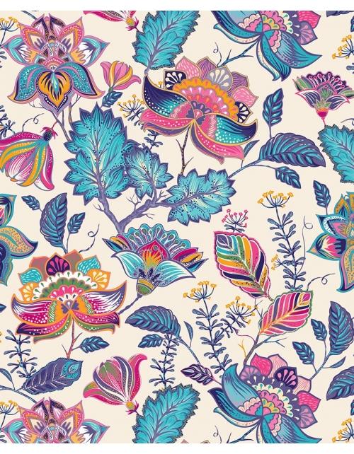 Papier Peint Mystic Flowers