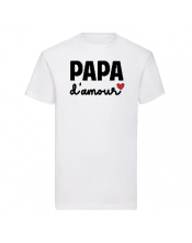T-shirt Papa Amour