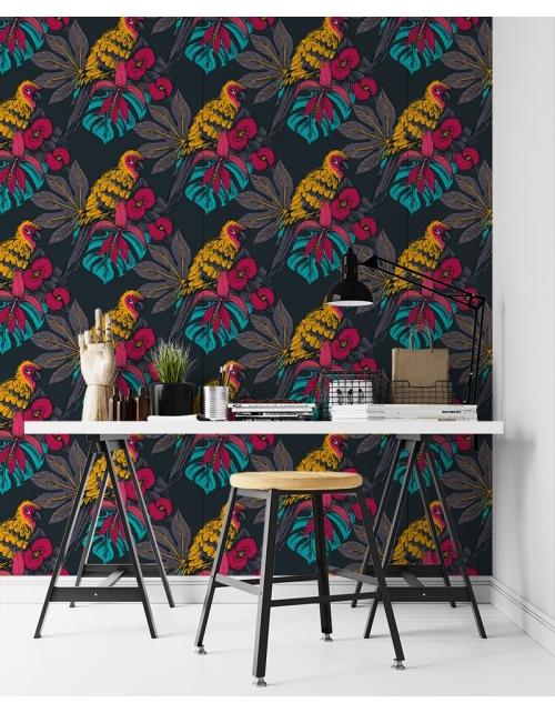 Papier Peint Tropiques Colors