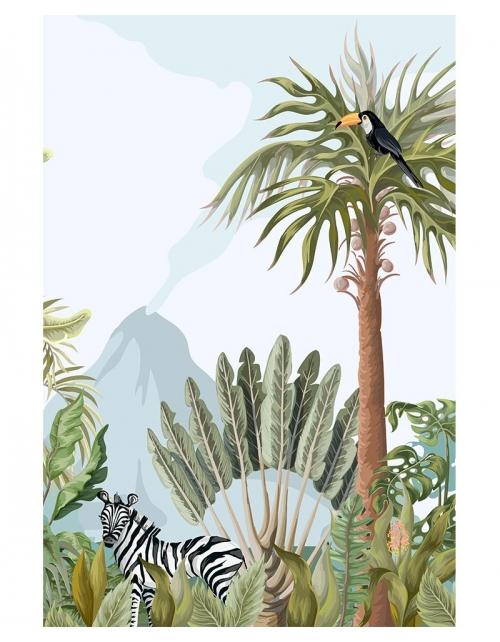 Papier Peint Panoramique Tropik