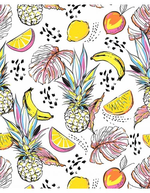 Papier Peint Pineapple