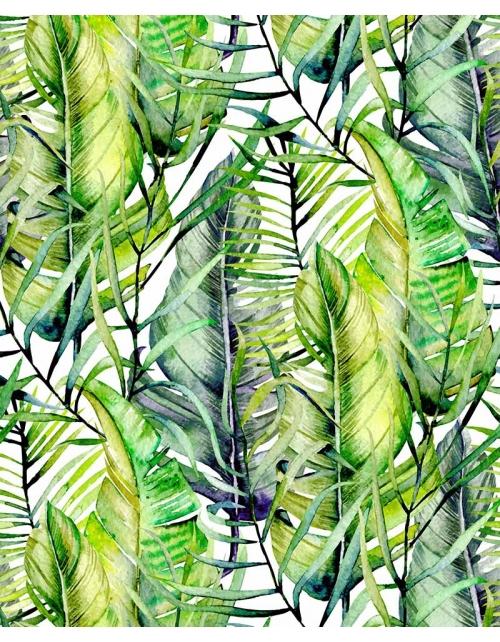 Papier Peint Tropical Green