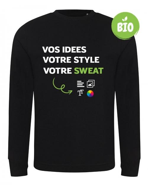 Sweat écologique et recyclé à personnaliser - Printmydeco