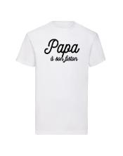 T-shirt Papa à son fiston