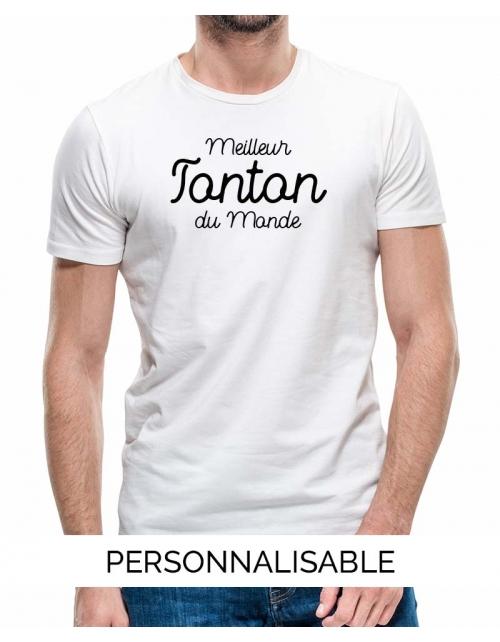 T-shirt Meilleur Tonton du Monde