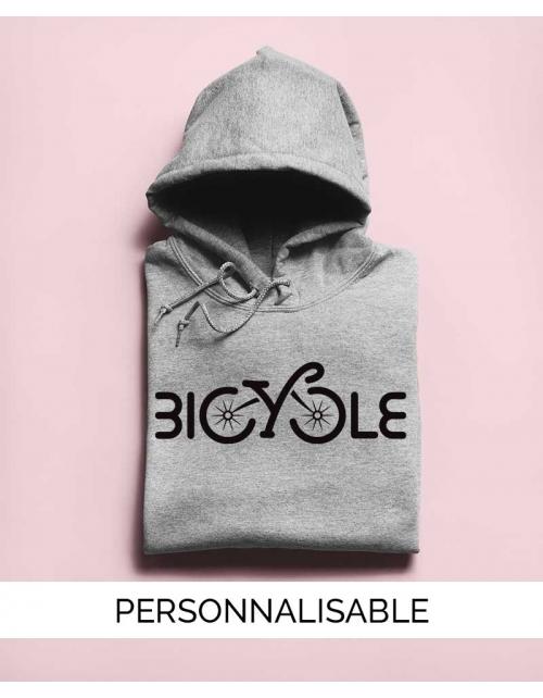 Hoodie Bicycle