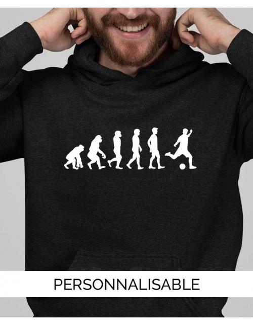 Sweatshirt Foot Evolution - Personnalisable - Pilou et Lilou