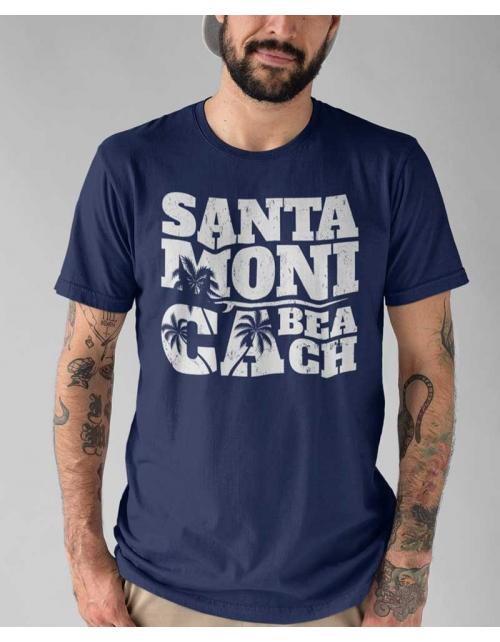 T-shirt Santa Monica Beach - Pilou et Lilou