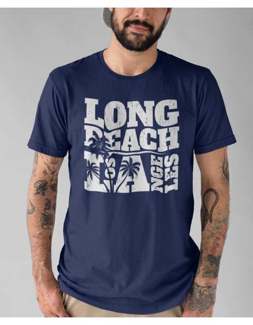 T-shirt Long Beach - Pilou et Lilou
