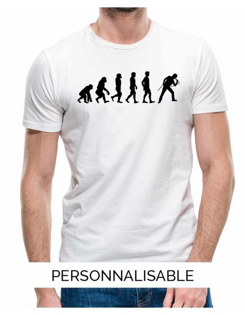 T-shirt Chanteur Evolution - Personnalisable - Pilou et Lilou