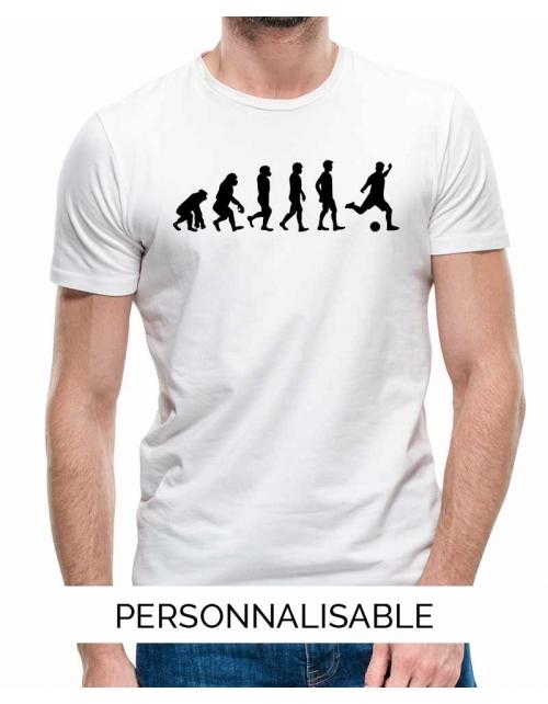 T-shirt Foot Evolution - Personnalisable - Pilou et Lilou